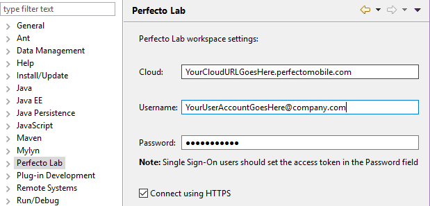 Cloudflare errors when accessing the Perfecto Lab using