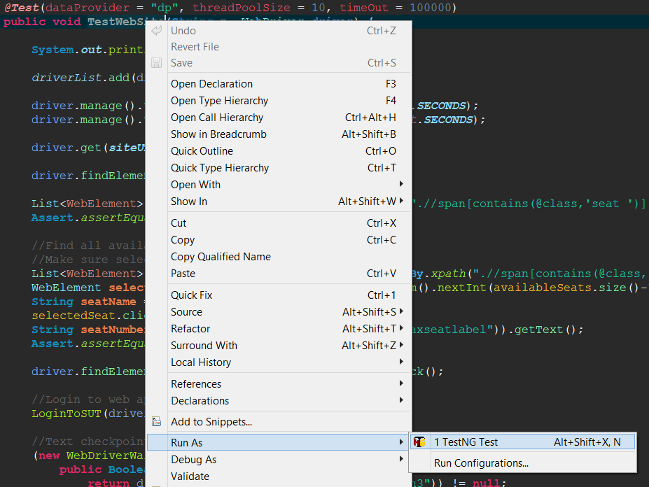 Run Unit Tests in Eclipse and Visual Studio - TIPS AND TRICKS ...