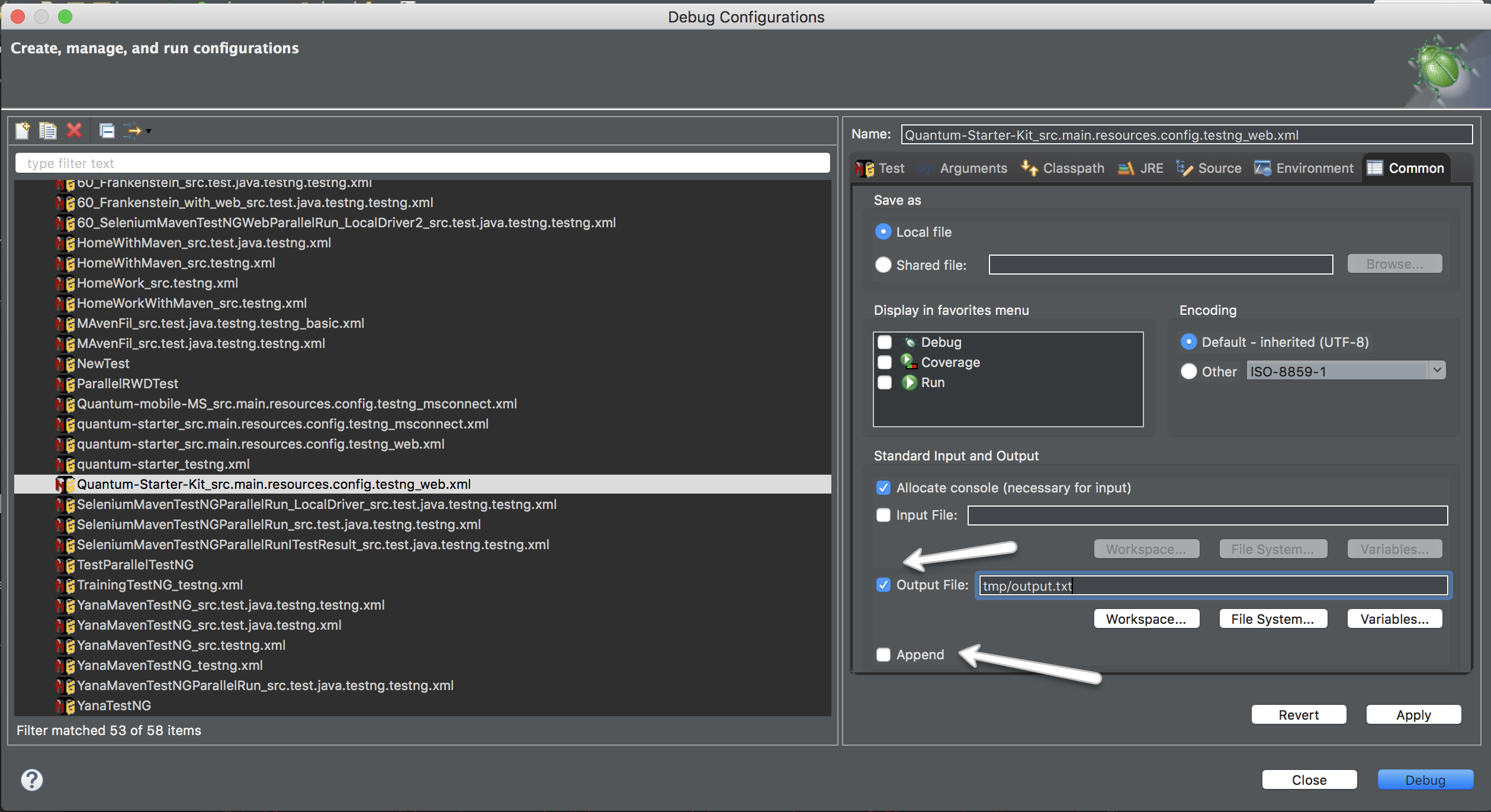 Export IDE console log to external file   TIPS AND TRICKS ...