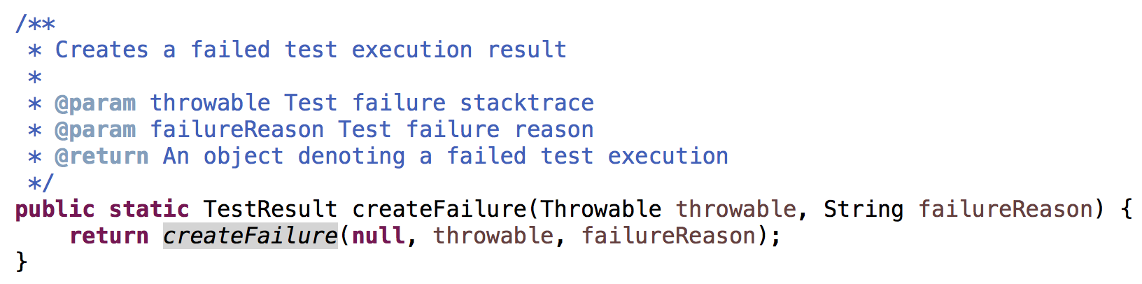 Adding failure reason in JUnit 5 - TIPS AND TRICKS - Documentation